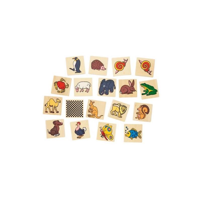 Képes memória - Állatok, 32 db-os