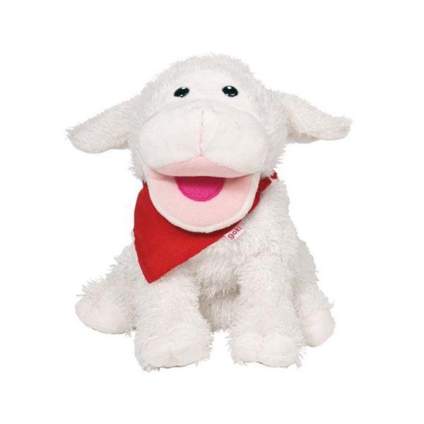 Plüss kézbáb - Bárány