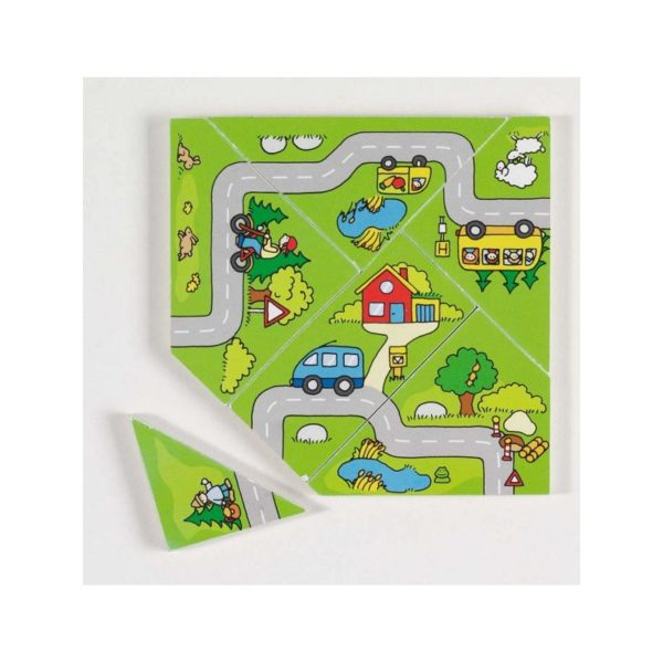 Fa puzzle - Térkép