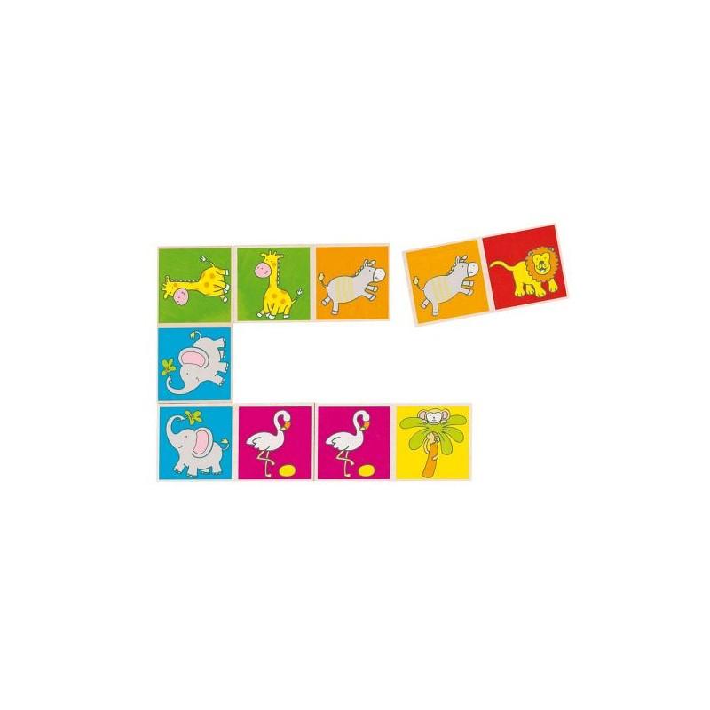 Szafari dominó, 28 db-os