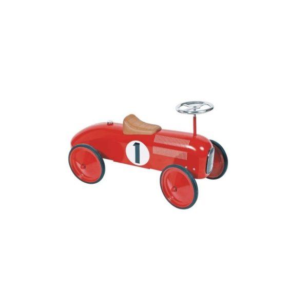 Lábbalhajtós autó - piros