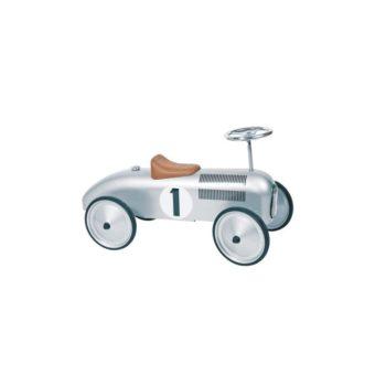 Lábbalhajtós autó - ezüst