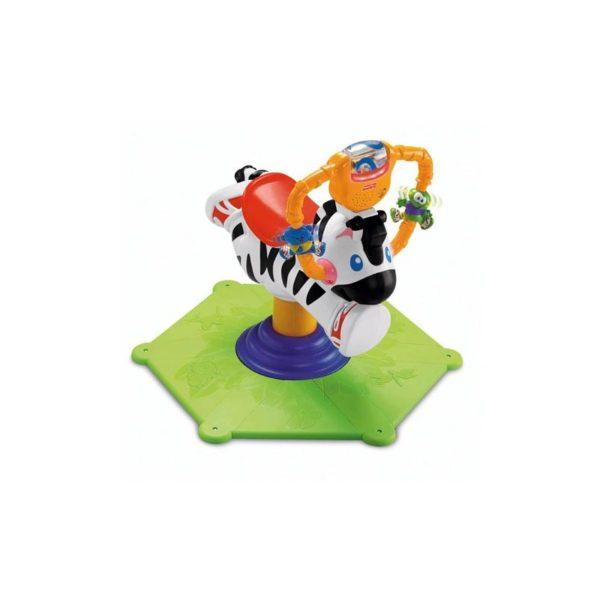 Fisher Price - Ugrálós zebra