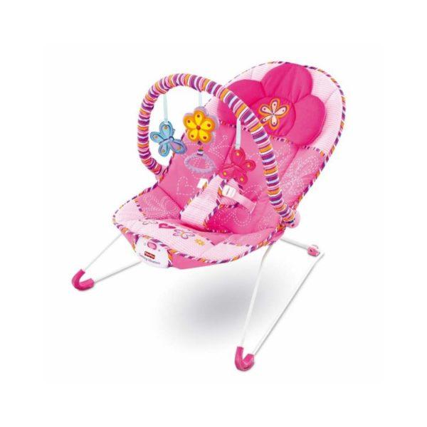 Fisher Price - Rózsaszín babafotel