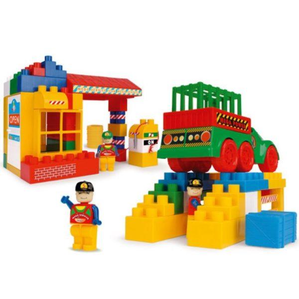 Bobi építõkészlet - Autójavító mûhely