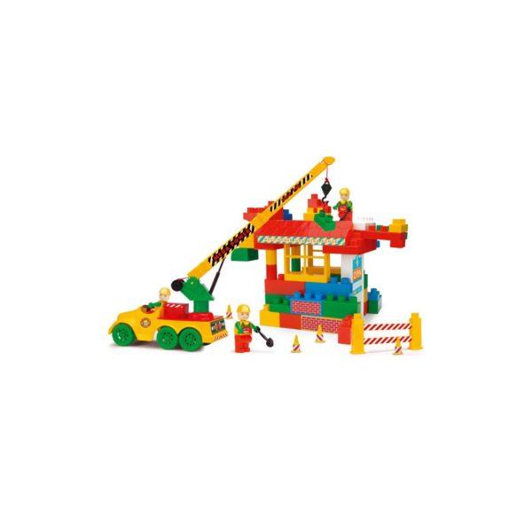 Bobi építõkészlet - Daruskocsi