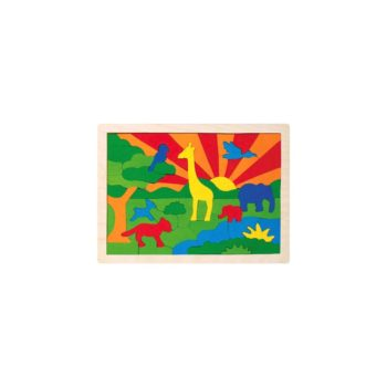Fa puzzle - Dzsungel