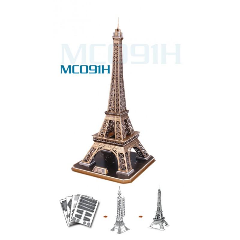 3D profi puzzle - Eiffel torony