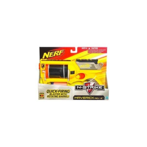 NERF N-Strike Maverick szivacslövõ pisztoly