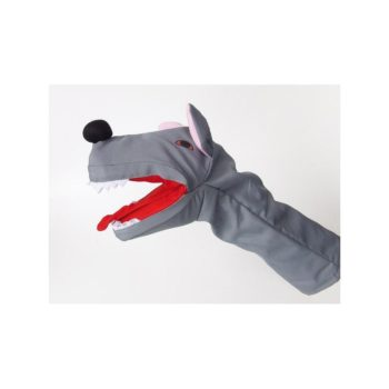 Plüss kézbáb - Farkas