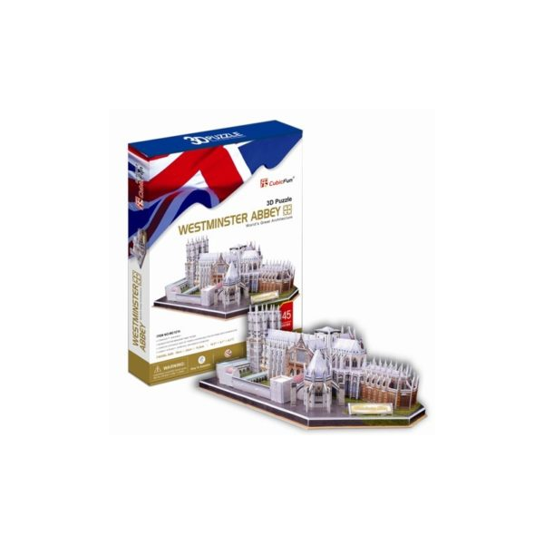 3D puzzle - Westminster Abbey
