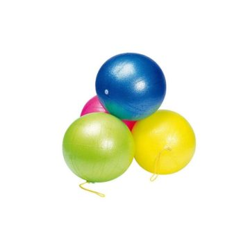 Felfújható színes labda, 25 cm
