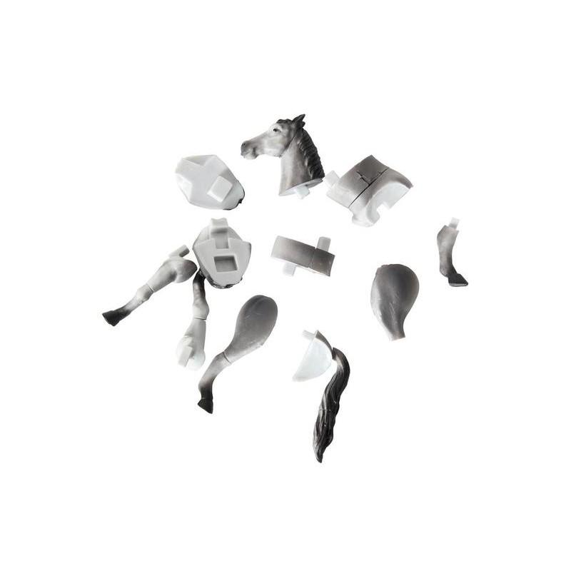 3D puzzle - Ló