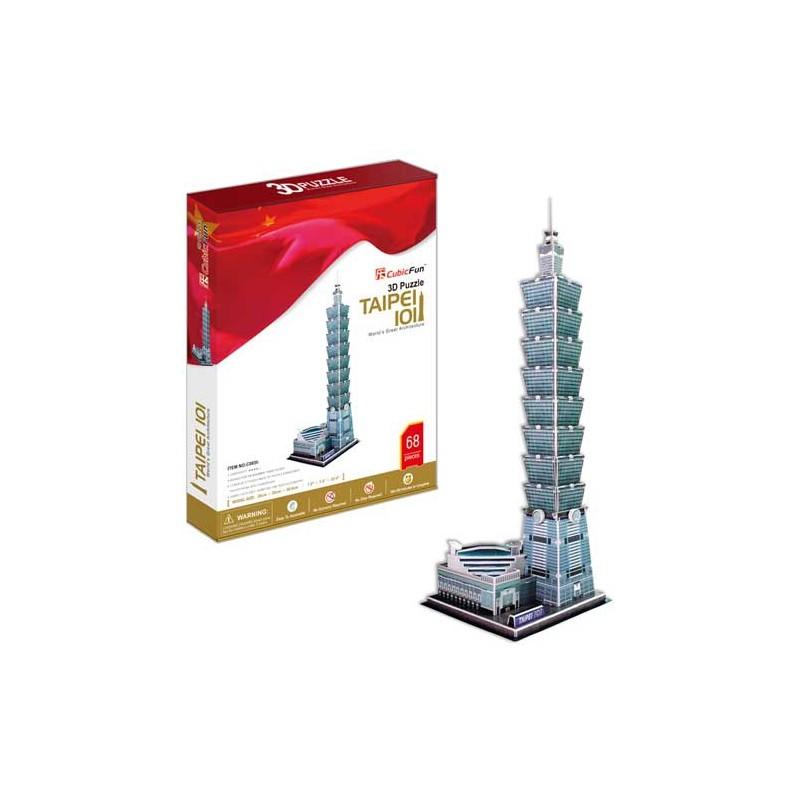 3D puzzle - Taipei 101