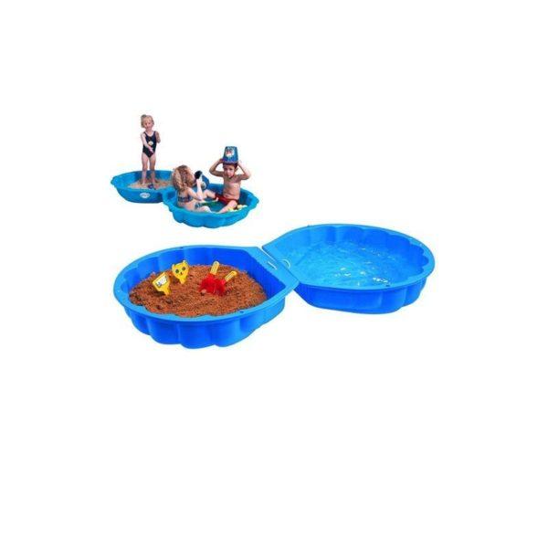 BIG Kagyló homokozó -kék