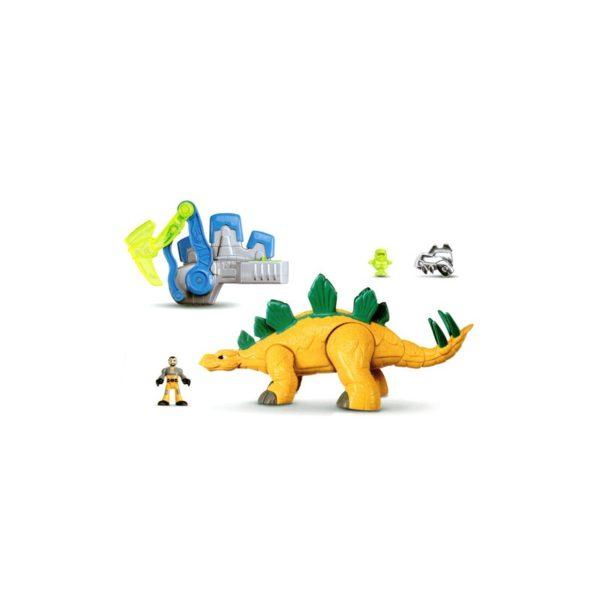 Fisher Price - Dínó készlet Stegosaurus deluxe változat