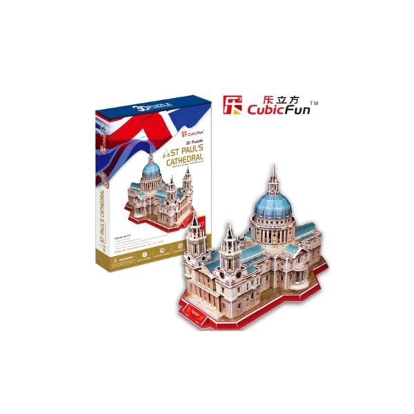 3D puzzle - Szent Pál székesegyház