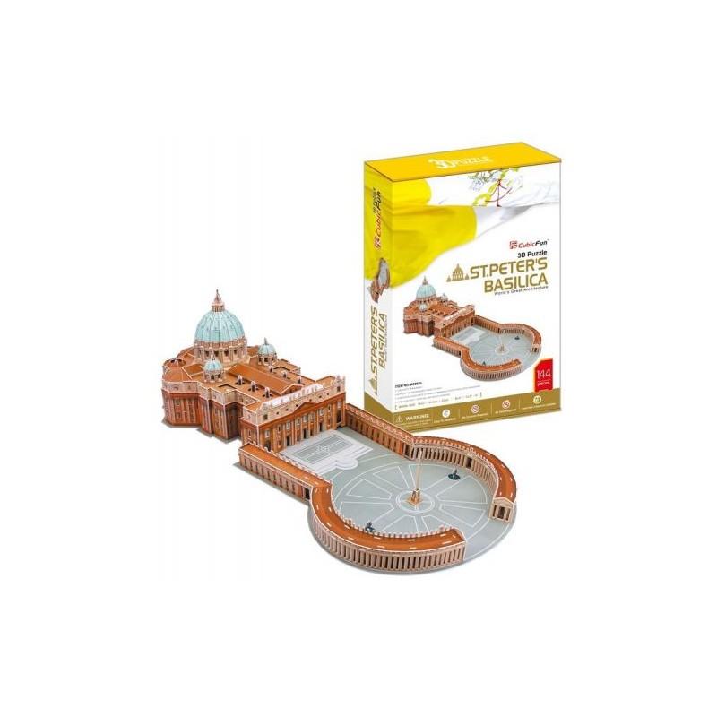 3D profi puzzle - Szent Péter Bazilika