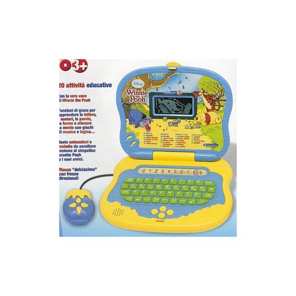 Micimackó interaktív gyermek laptop