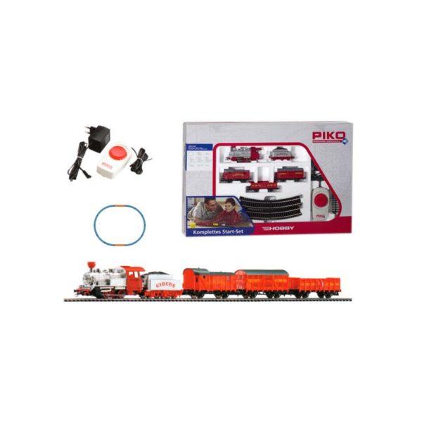 PIKO modellvasút - Gõzös cirkuszi kocsikkal