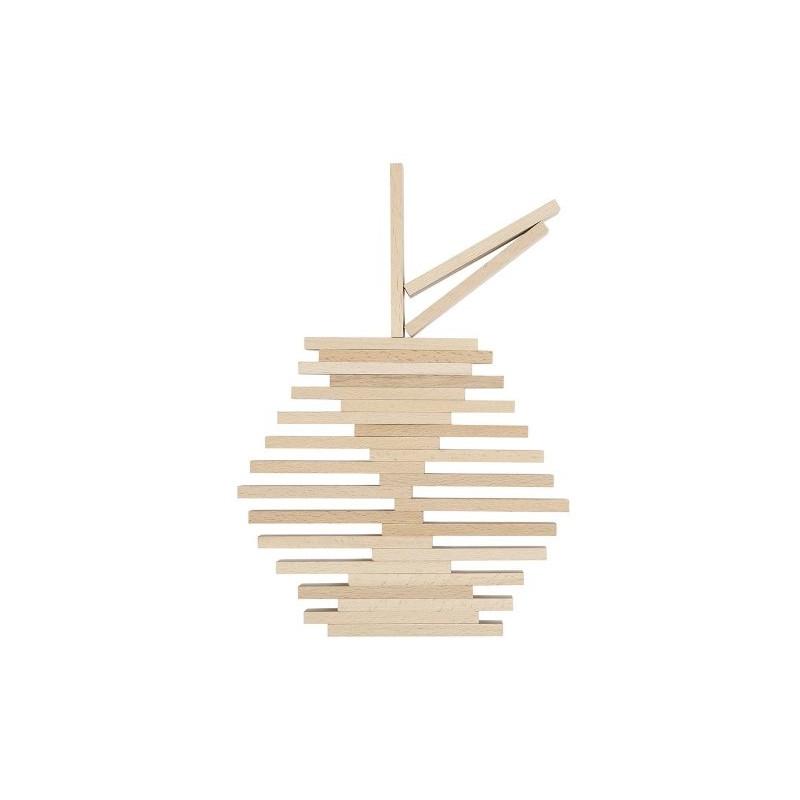 200 db-os natúr fa építőjáték