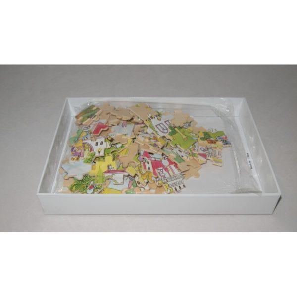 Goki fa puzzle palota dobozban