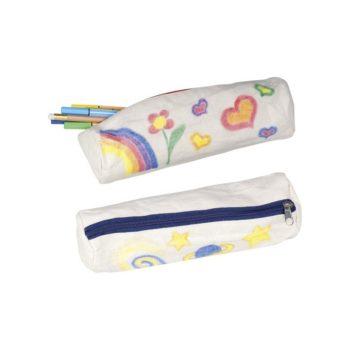 Egyedileg dekorálható tolltartó
