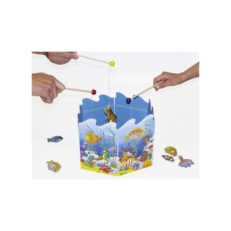 Mágneses horgász játék