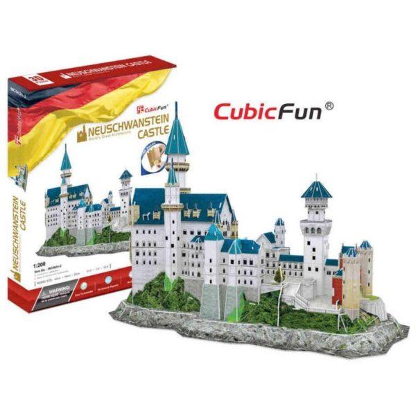 3D puzzle - Neuchswanstein kastély