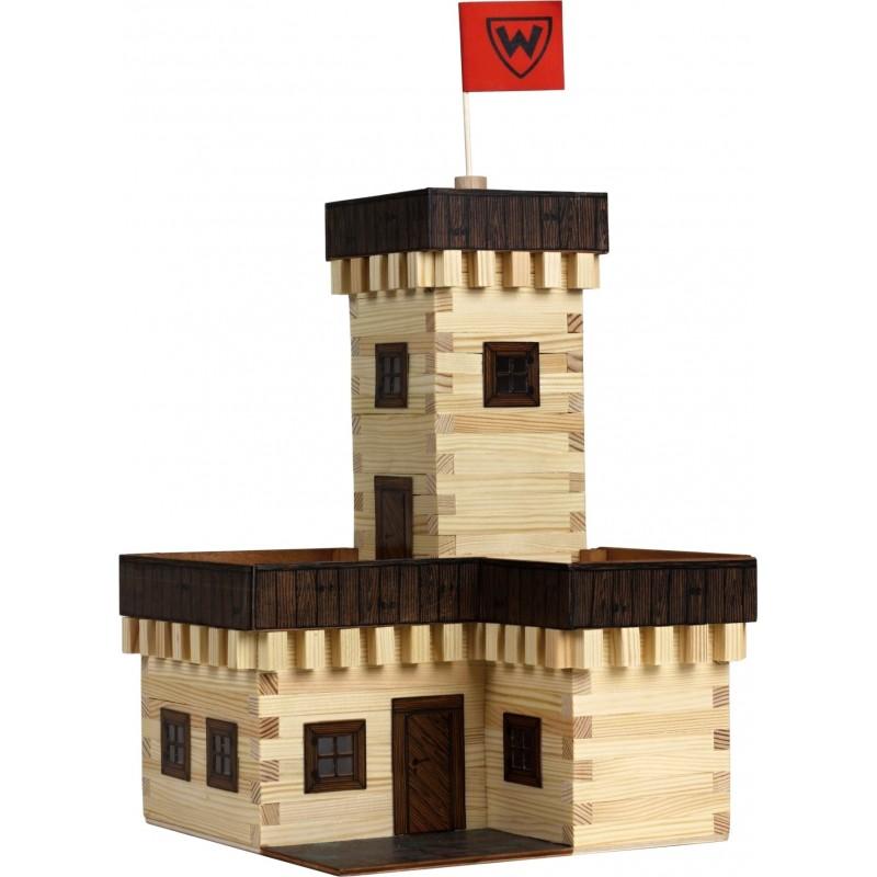 Fa építőkészlet - Nyári kastély