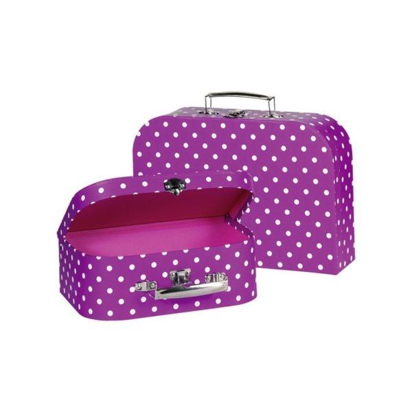Játék bőrönd szett - lila