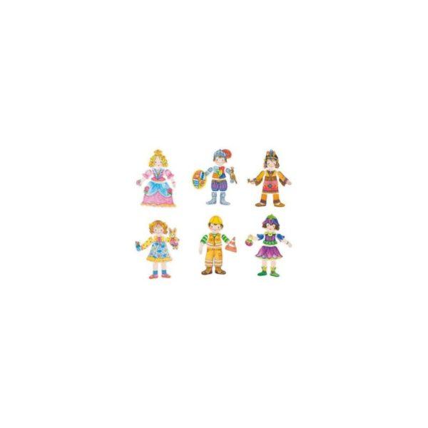 Öltöztethetõ figurák, 36 db-os