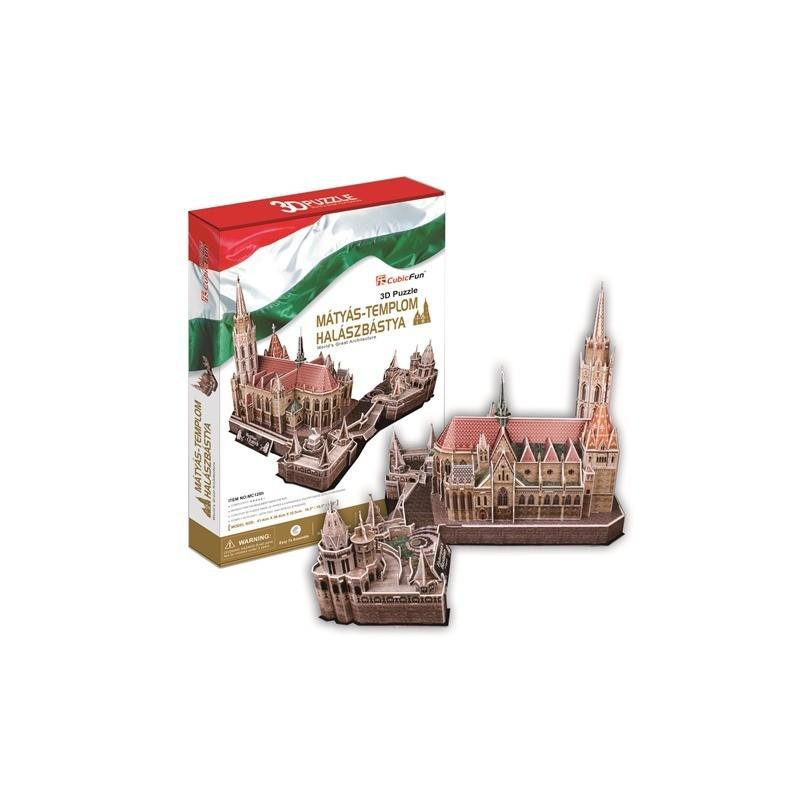 3D puzzle - Mátyás-templom, Halászbástya