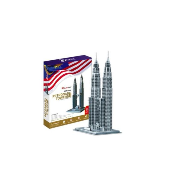 3D puzzle - Petronas Towers