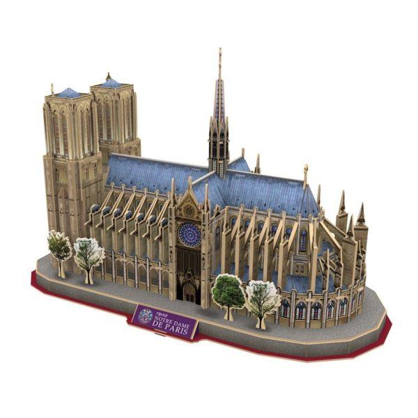 3D puzzle - Notre Dame, Párizs