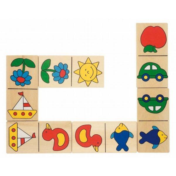 Képes dominó, nagy