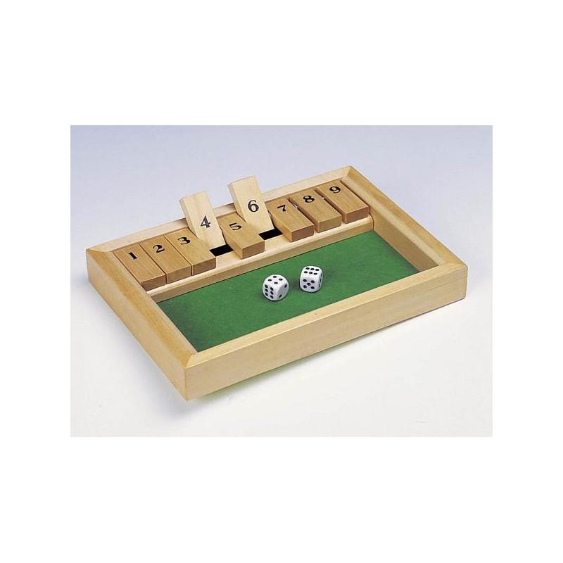 Logikai társasjáték - Shut the box