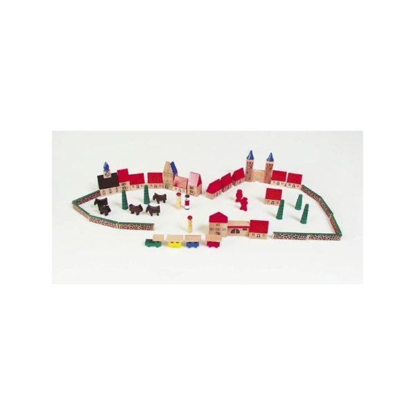 Mini város építõ, 46 db-os