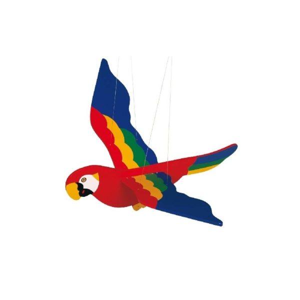Függődísz - Papagáj