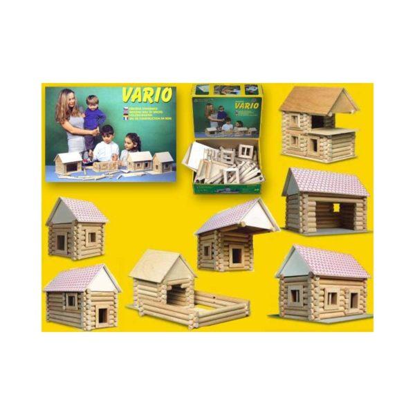 Vario fa építőjáték 72 db-os