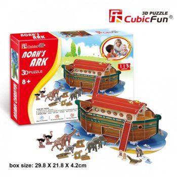3D puzzle - Noé bárkája