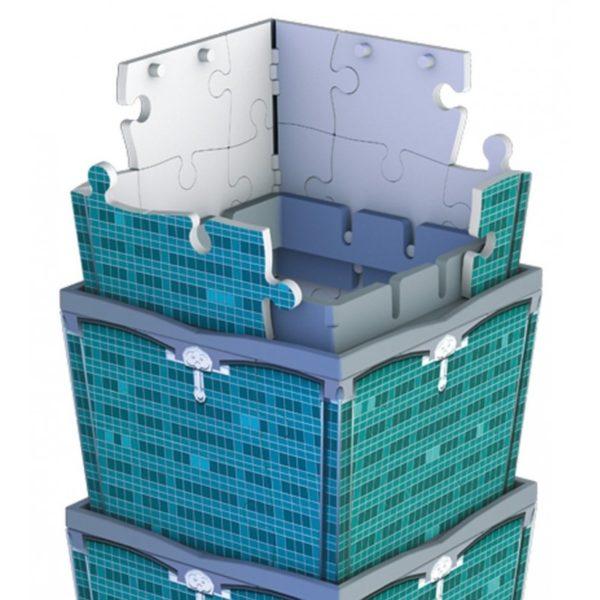 3D puzzle - Taipei 101 torony