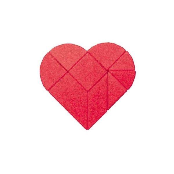 Anker kő puzzle - Szív