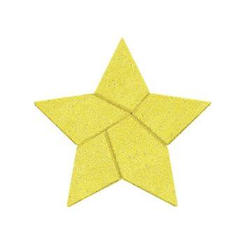 Anker logikai kirakó kőből - Csillag tangram