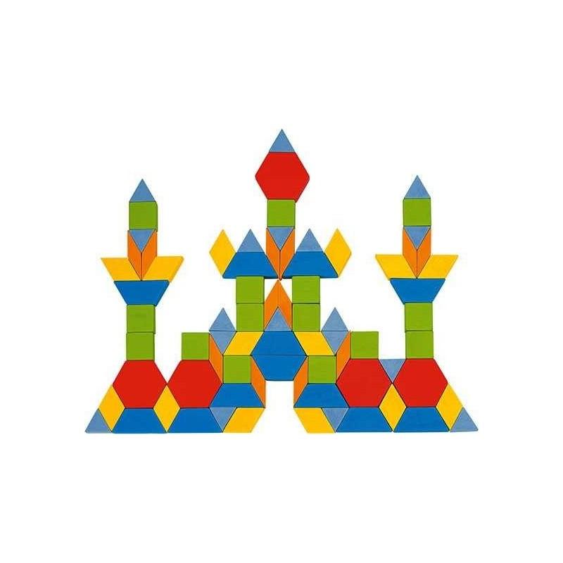 250 db-os geometriai fa kirakó