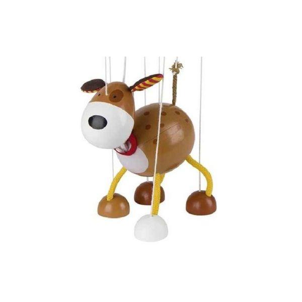 Marionett figura fából - Kutya