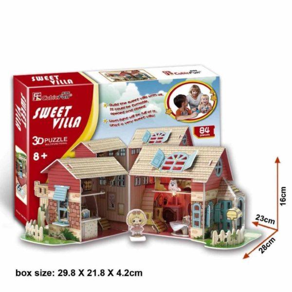 3D puzzle - Világító ház