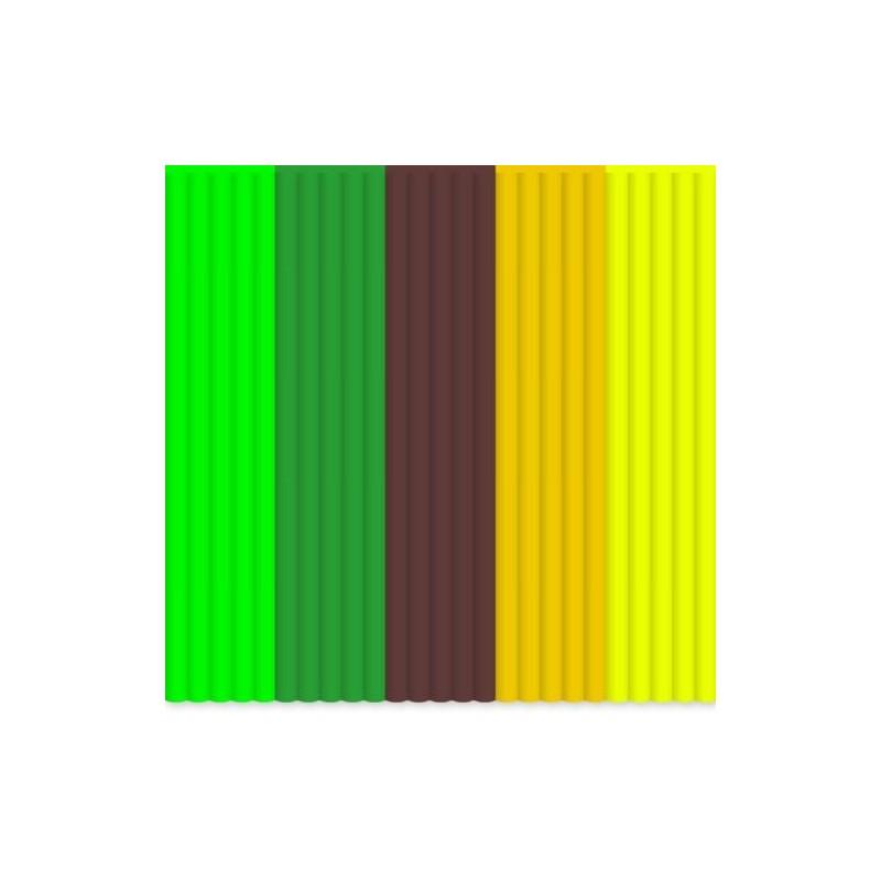 3Doodler szálcsomag ABS MIX - Dzsungel színek