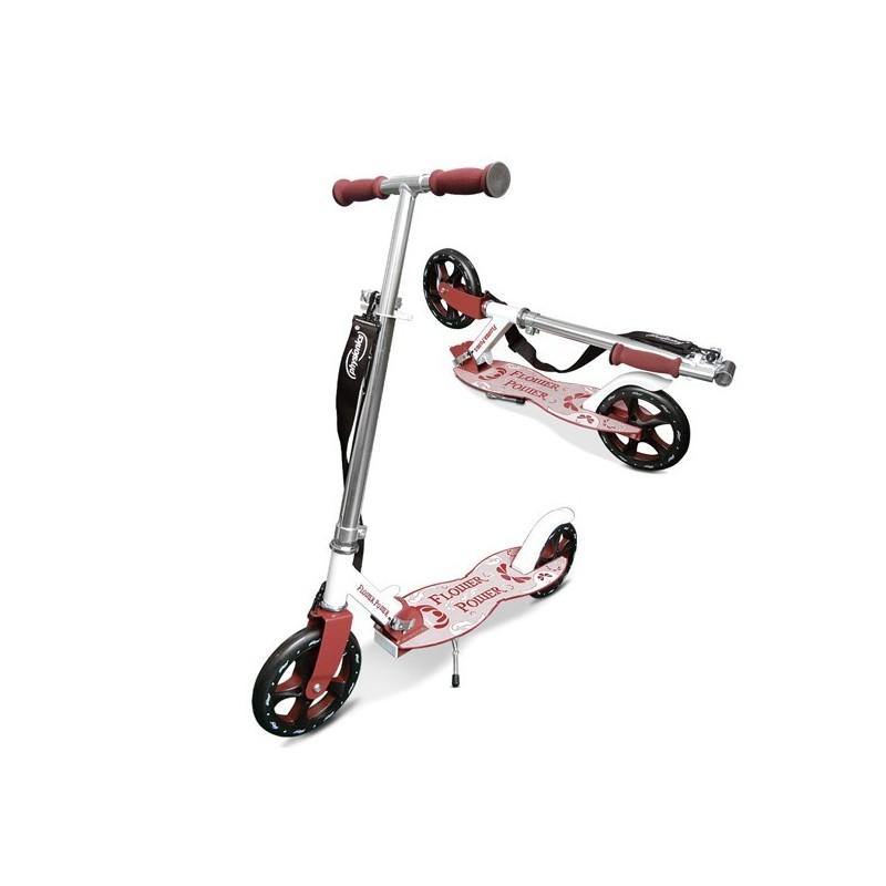 Roller gyerekeknek, rózsaszín-piros