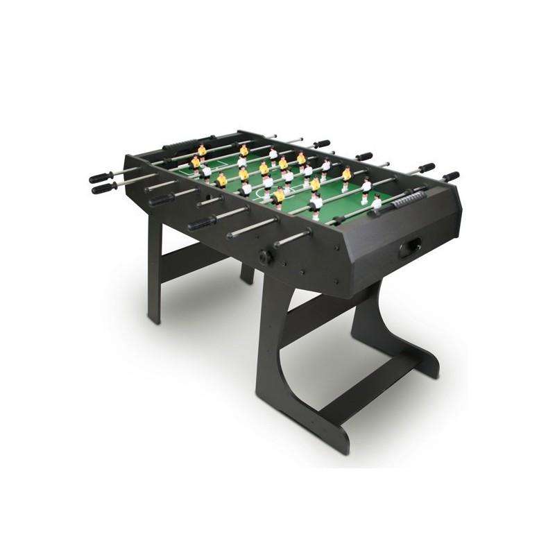 Összecsukható csocsóasztal, fekete